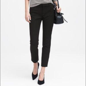 Banana Republic Sloan Skinny fit black pants